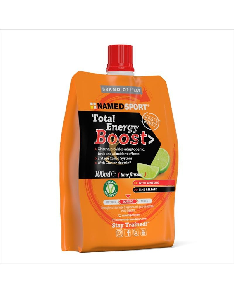 TOTAL ENERGY BOOST WITH GINSENG GUSTO LIME 100 ML - DrStebe