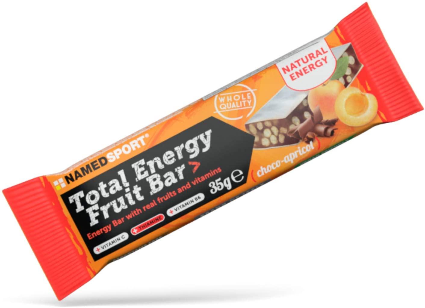 TOTAL ENERGY FRUIT BAR CHOCO-APRICOT 25 BARRETTE DA 35 G - Farmacia Massaro