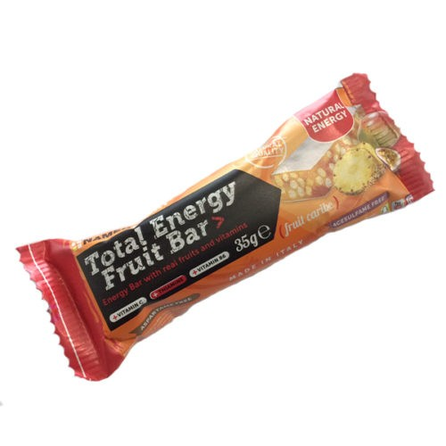 NAMEDSPORT TOTAL ENERGY FRUITBAR MANGO ANANAS & MARACUJA 35 G - Farmawing