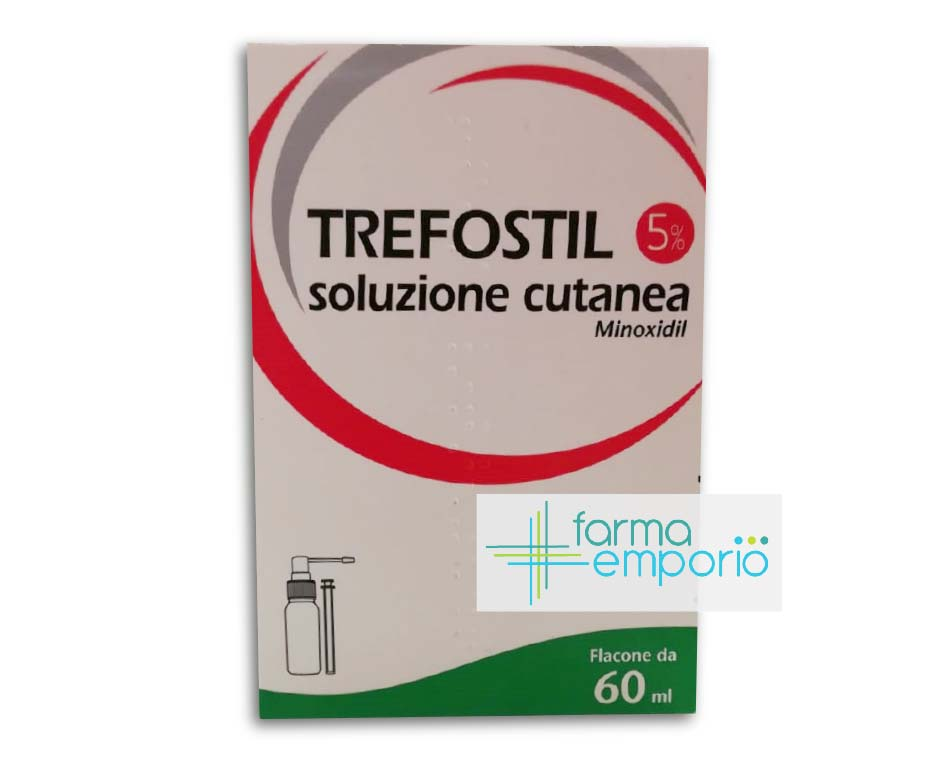 Trefostil 5% Soluzione Cutanea Trattamento Dell'Alopecia Androgenetica 60ml - FARMAEMPORIO