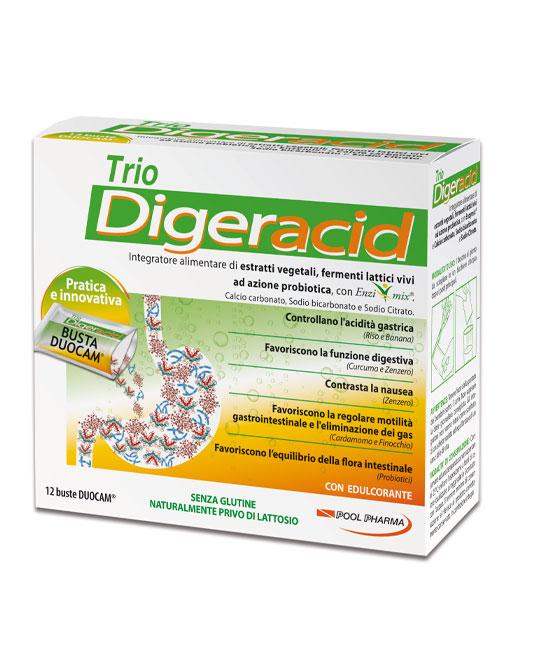 Trio Diger Acid 12 Buste - latuafarmaciaonline.it