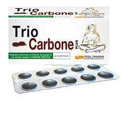 TRIOCARBONE PLUS 40 COMPRESSE - farmasorriso.com