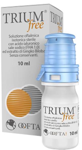 TRIUM FREE GOCCE OCULARI 10 ML - Farmacia Centrale Dr. Monteleone Adriano