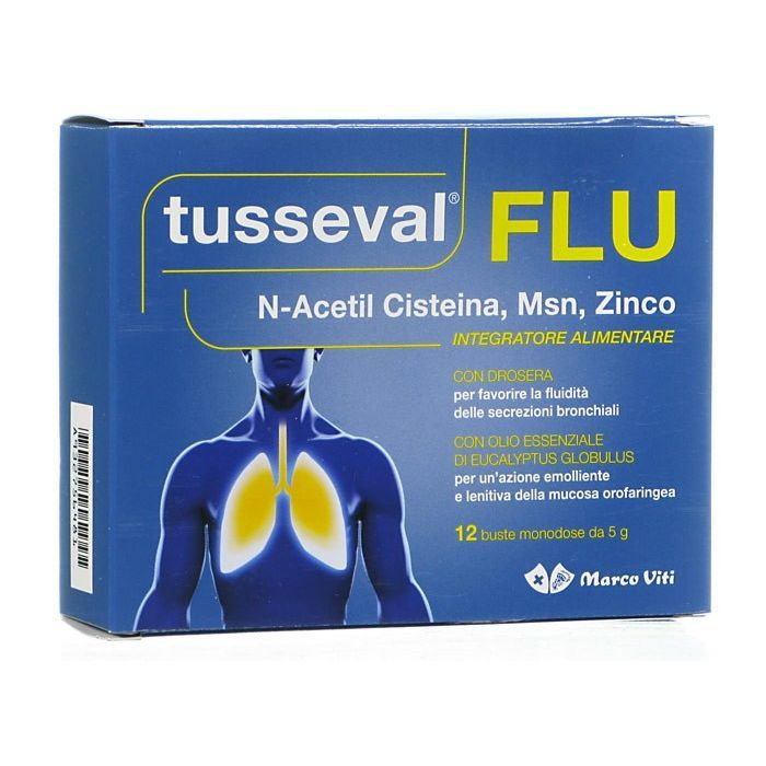 TUSSEVAL FLU 12 Bustine  - Farmapage.it