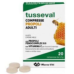 TUSSEVAL GOLA ADULTI 24 COMPRESSE - Speedyfarma.it