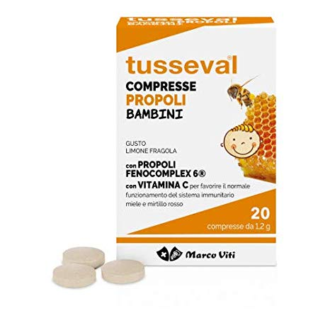 TUSSEVAL GOLA BAMBINI 24 COMPRESSE - Nowfarma.it