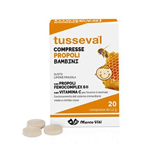 TUSSEVAL GOLA BAMBINI 24 COMPRESSE - Speedyfarma.it