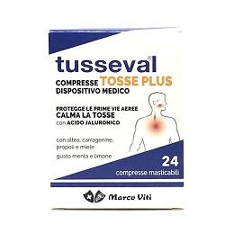 TUSSEVAL TOSSE PLUS 24 COMPRESSE - Speedyfarma.it