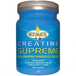 Ultimate Italia Creatine Supreme Integratore Alimentare 180 Capsule - Farmajoy