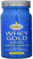 Ultimate Whey Gold 100% Integratore Alimentare Gusto Banana 750g - Farmajoy