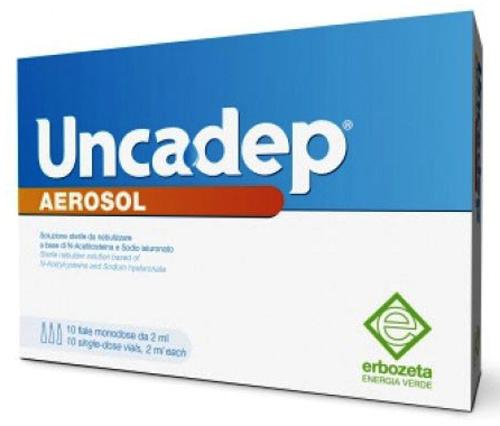 UNCADEP AEROSOL 10 FIALE DA 2 ML - Farmacia Centrale Dr. Monteleone Adriano