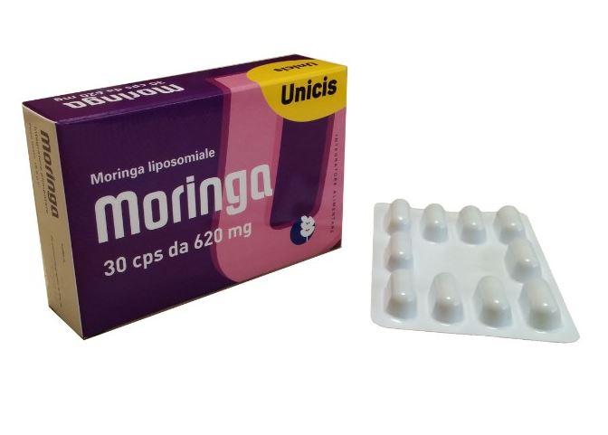 Moringa Unicis Integratore Alimentare 30 Capsule scadenza 11/2020 - Farmacia 33