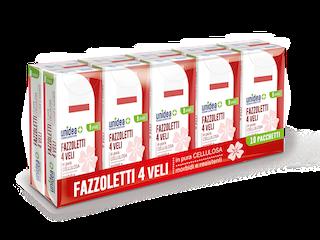 UNIDEA FAZZOLETTI 10 PACCHETTI  - Farmabenni.it