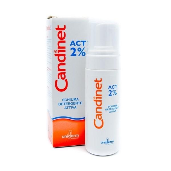 Uniderm Candinet Act 2% Schiuma Detergente Attiva 150ml - Iltuobenessereonline.it