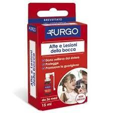 Urgo Afte e Lesioni Bocca Spray 15ml - Arcafarma.it