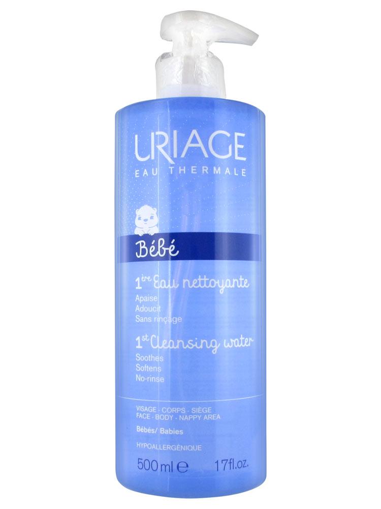 Uriage Bebe Eau Acqua Detergente Delicata 500ml - Iltuobenessereonline.it