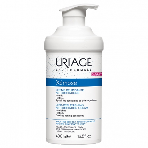 Uriage Xemose Crema Liporestitutiva 400ml - Iltuobenessereonline.it