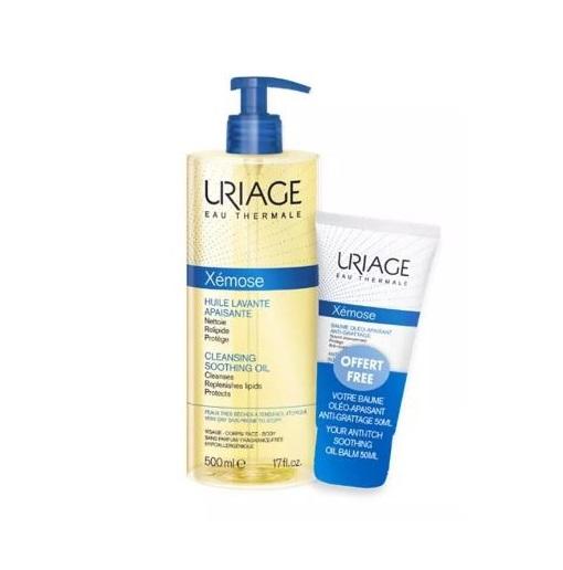 Uriage Xemose Olio Detergente 500ml + Balsamo Olio 50ml - Iltuobenessereonline.it
