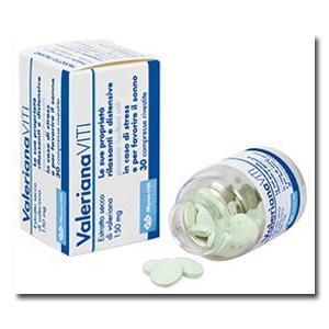 VALERIANA VITI 30 COMPRESSE RIVESTITE - farmaciadeglispeziali.it