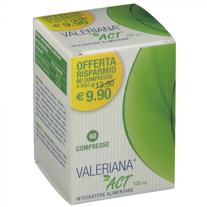 VALERIANA ACT 60CPR - Speedyfarma.it