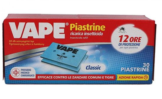 VAPE RICARICA PIASTRINE 30 PEZZI - FARMAEMPORIO