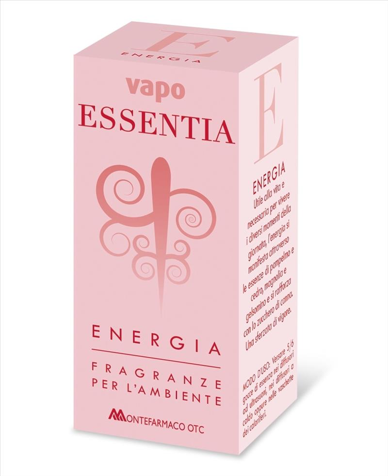 Vapo Essentia Energia Fragranze Per L'Ambiente 10ml - latuafarmaciaonline.it