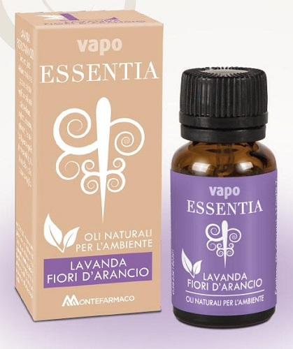 VAPO ESSENTIA LAVANDA ARANCIO OLIO ESSENZIALE 10 ML - Farmastar.it