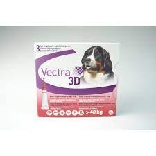 VECTRA 3D*3PIP >40KG ROSSO - Parafarmacia la Fattoria della Salute S.n.c. di Delfini Dott.ssa Giulia e Marra Dott.ssa Michela