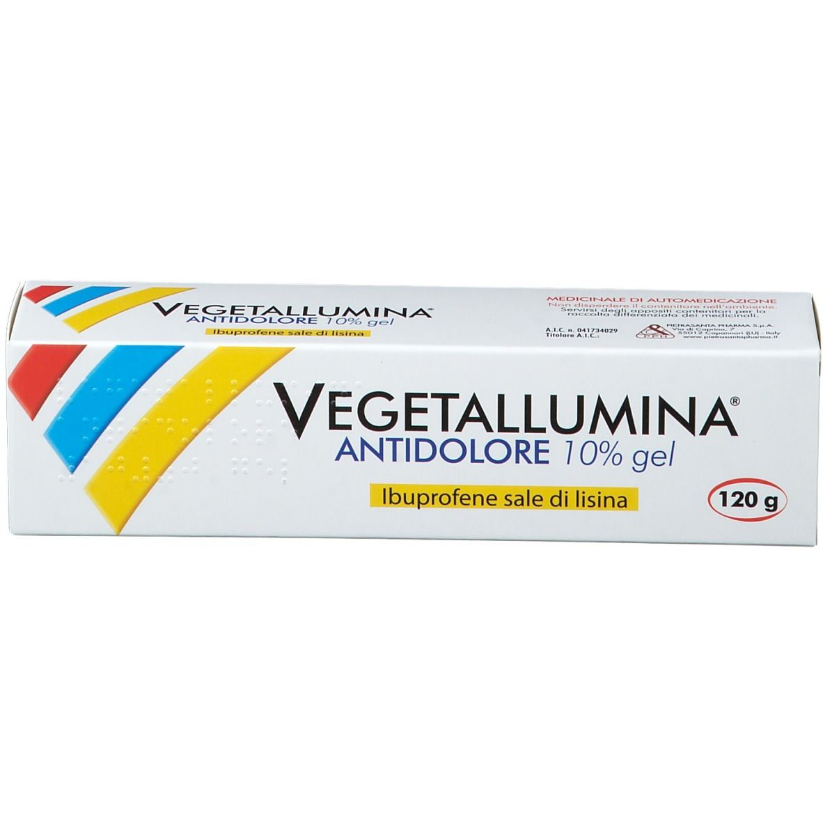 VEGETALLUMINA ANTIDOLORE 10% 120 gr - Farmaunclick.it