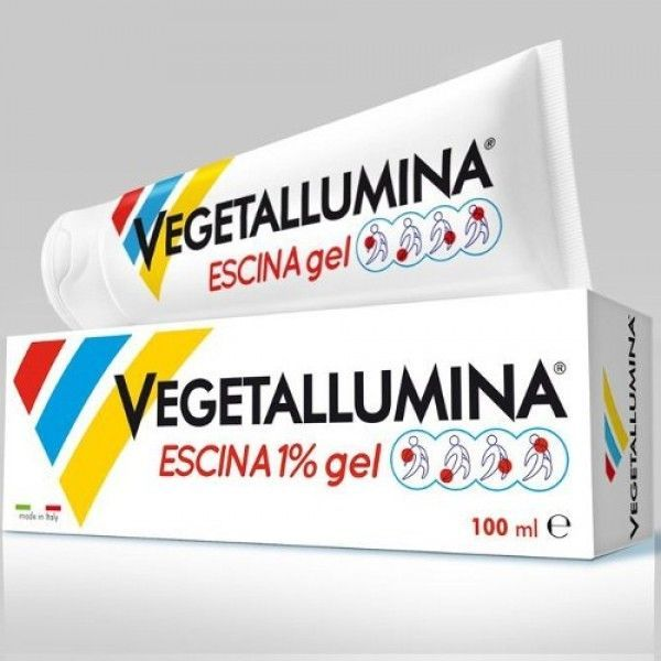 VEGETALLUMINA EMATOGEL ESCINA 1% 100 ML - Spacefarma.it