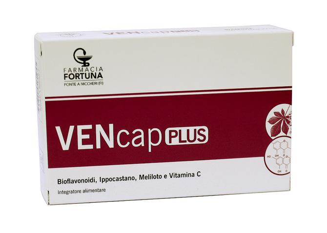 TuaFarmaonLine VENcap Plus Circolazione Venosa e Microcircolo 30 Capsule Softgel - latuafarmaciaonline.it