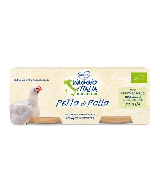 VIAGGIO D'ITALIA OMOGENEIZZATO PETTO POLLO 2 X 80 G - Farmapage.it