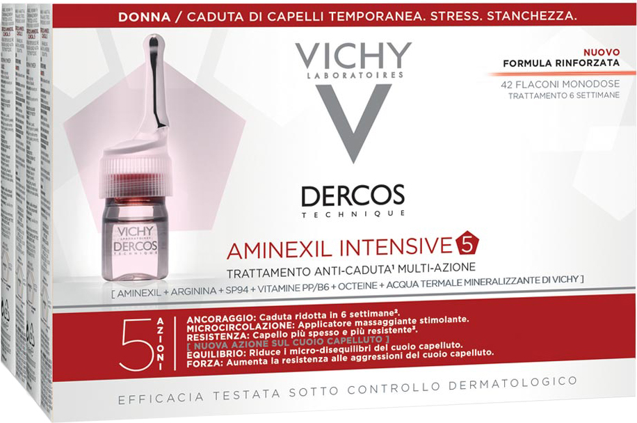 DERCOS AMINEXIL FIALE 42 DONNNA 6 ML - Farmacia Centrale Dr. Monteleone Adriano
