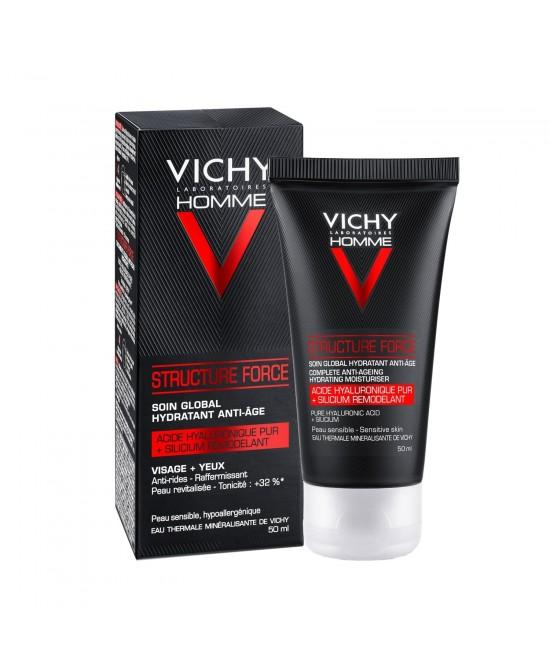 VICHY HOMME STRUCTURE FORCE 50 ML - Farmacia Castel del Monte