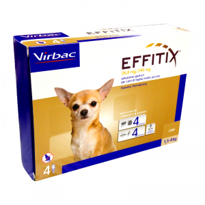 VIRBAC EFFITIX 1,5-4 KG - La farmacia digitale