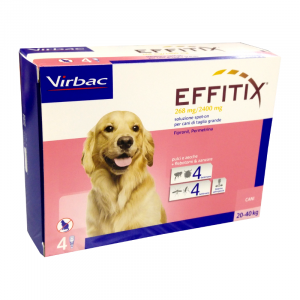 VIRBAC EFFITIX 20-40 KG - La farmacia digitale