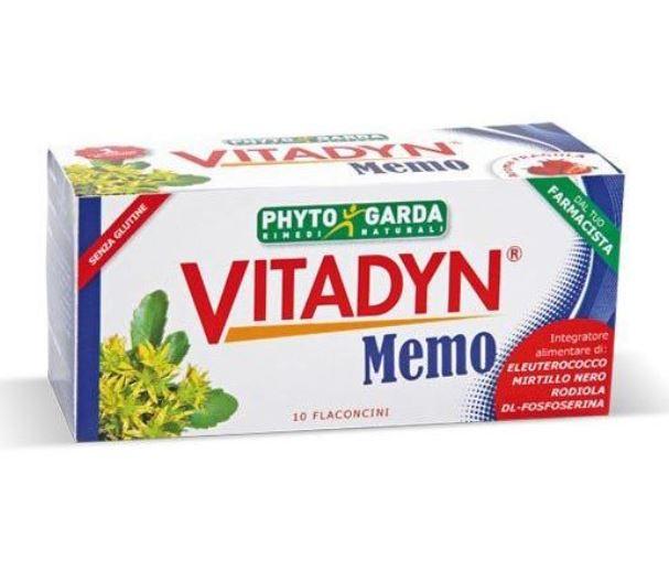 VITADYN MEMO 10 FLACONCINI 10 ML - Farmafirst.it