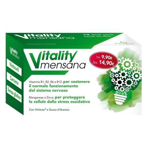 VITALITY MENSANA 12 STICK PACK - Iltuobenessereonline.it
