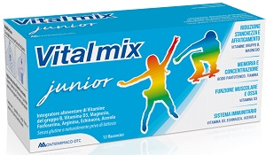 VITALMIX JUNIOR 12 FLACONCINI DA 12 ML - Farmafamily.it