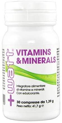 VITAMIN & MINERALS STRONG FORMULA 30 COMPRESSE - Farmacia Massaro