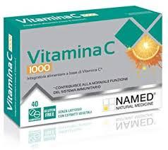 NAMED SpA VITAMINA C 1000 40 COMPRESSE - SUBITOINFARMA