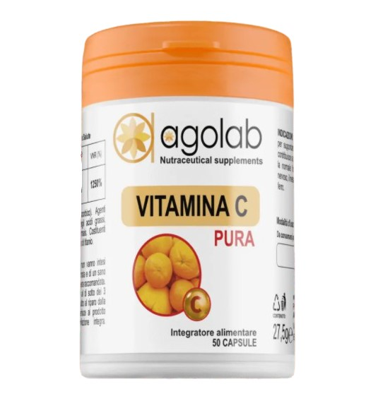 VITAMINA C 500MG 50CPS - Farmacia 33