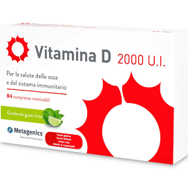 VITAMINA D 2000 UI 84 COMPRESSE - DrStebe