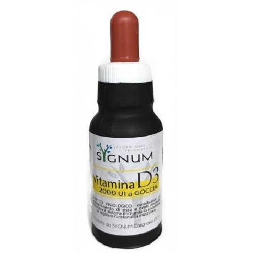 VITAMINA D3 OSSA DIFESE IMMUNITARIE 20 ml SYGNUM - Farmastar.it