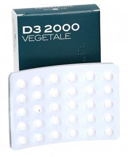 VITAMINA D3 2000 VEGETALE PRINCIPIUM  60 COMPRESSE MASTICABILI - Farmaedo.it