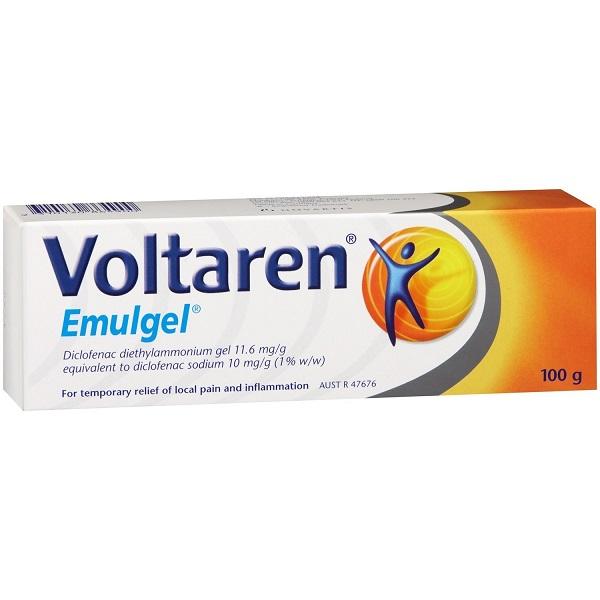 VOLTAREN EMULGEL GEL 100 G 1% - Nowfarma.it