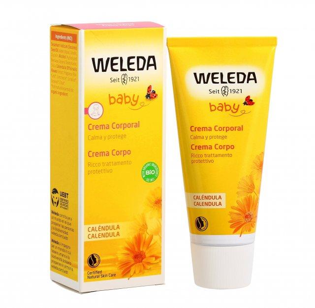 WELEDA BABY CALENDULA CREMA CORPO  - Farmalke.it