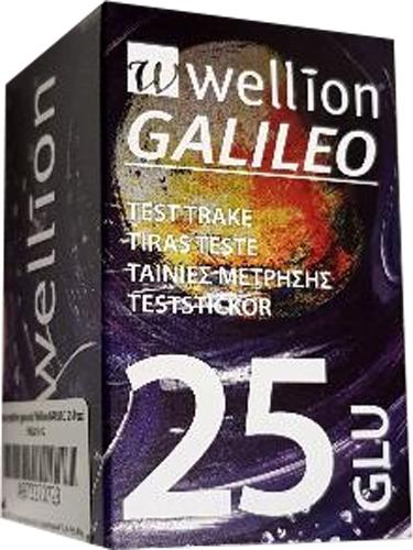 WELLION GALILEO STRIPS 25 GLICEMIA - Farmacia Centrale Dr. Monteleone Adriano