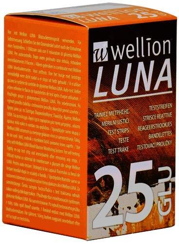 WELLION LUNA 25 STRIPS STRISCE PER MISURAZIONE GLICEMIA -  - Farmaconvenienza.it