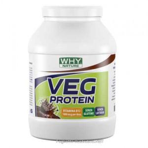 whynature 100% Veg Protein Cacao  - Farmalke.it